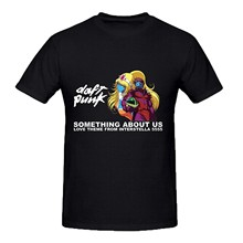 Daft Punk Something About Us Mens Tee Shirts(China)