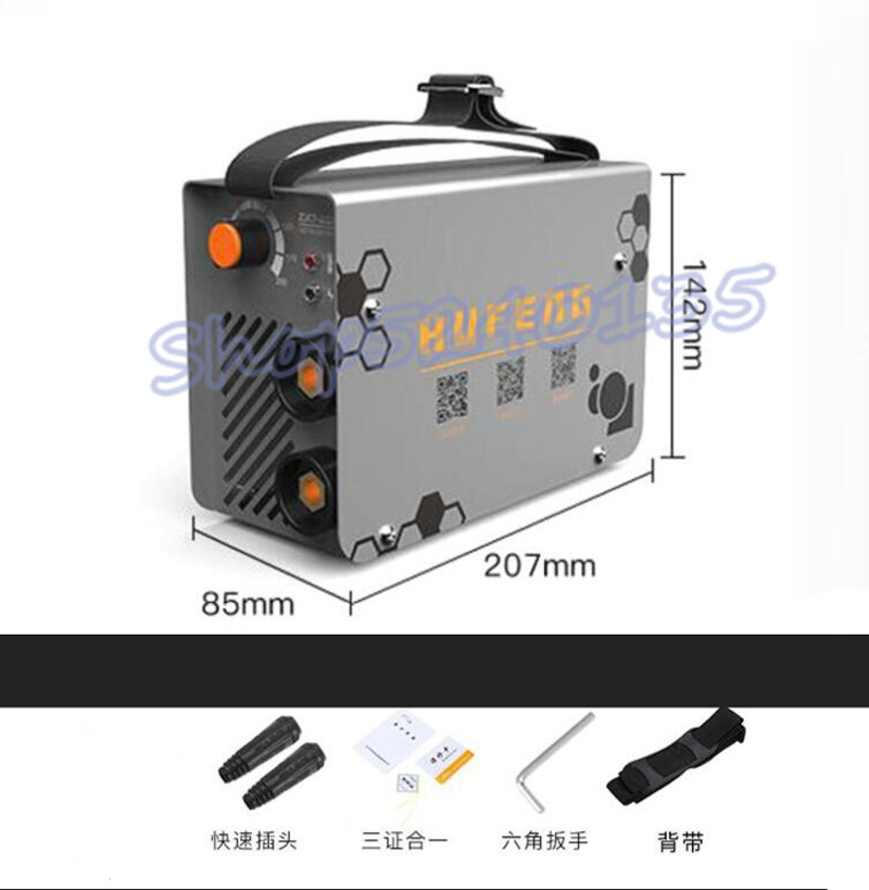 ZX7-200 10-200A 4000W Handheld Mini MMA Electric Stick Welder 220V 200A Inverter Arc IGBT Welding Machine Tool