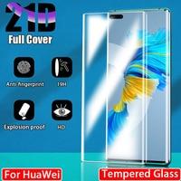Protector de pantalla de vidrio templado para móvil, película de cobertura completa para Huawei P30, P20, P40 Pro Lite, P Mate 20, 30, 40 Plus, Smart Z Y6, 2019, 2018, Mate30