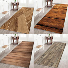 Plate floor pad type flower printing Anti-Slip absorbent flannel home