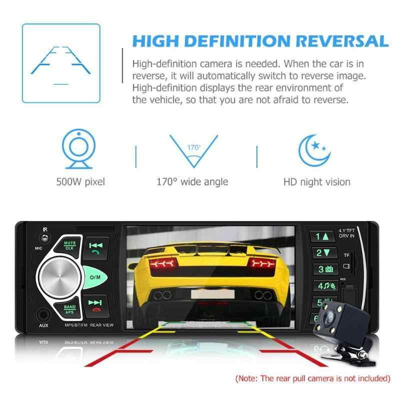 4022D 車ステレオ MP5 プレーヤー Bluetooth USB TF カード AUX ラジオダッシュ受信機サポート反転画像とビデオ出力