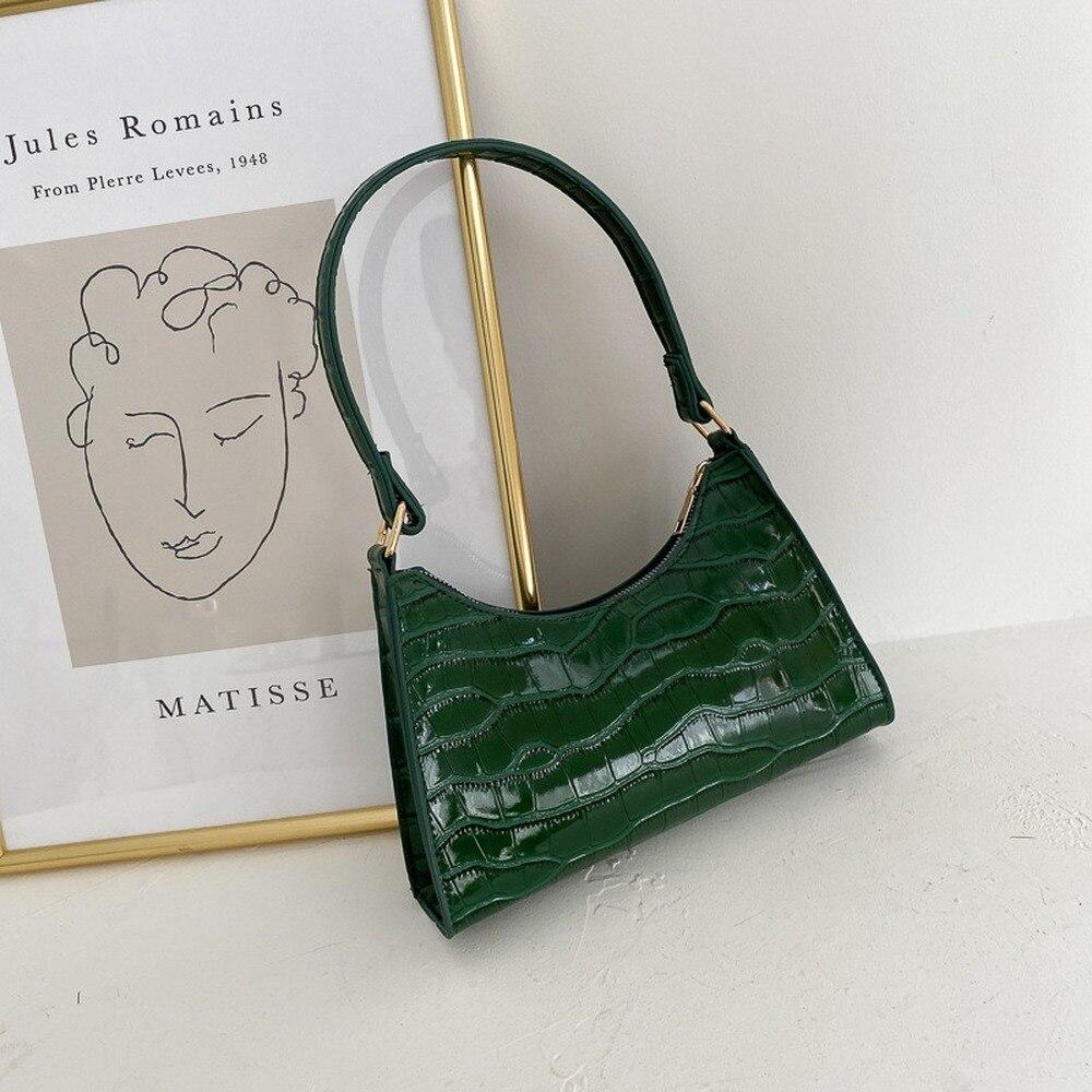 Новинка; Модные туфли в стиле ретро на каждый день женские сумки сумка через плечо женские кожаные однотонные Цвет цепи сумки из натурально...