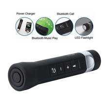 Outdoors Cycling Special-purpose Bluetooth Speaker Waterproof  Bluetooth Speakers Portable Flashlight Speakers