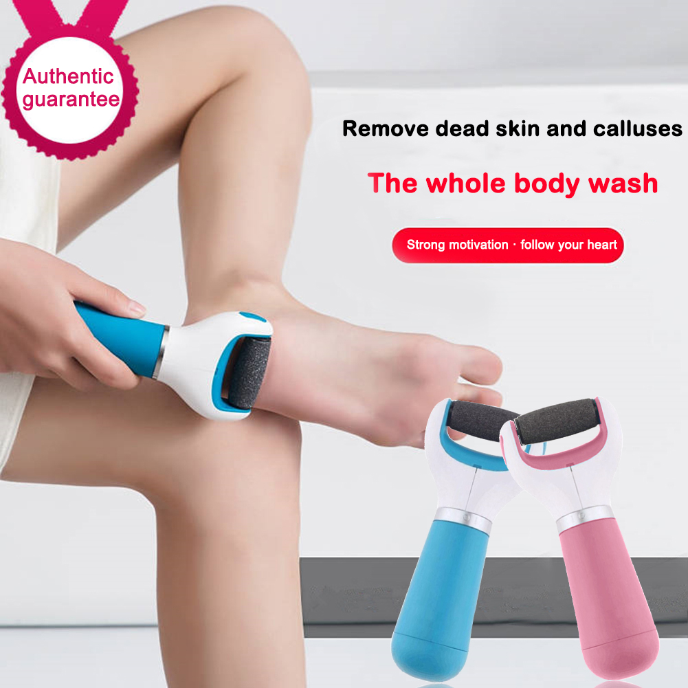 Multifunctional Electric Foot Grinder Foot Grinding Machine Exfoliating Dead Skin Callus Remover Foot Care Pedicure Device Hot
