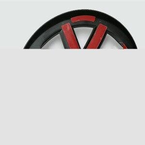 Image 4 - Anteriore/Posteriore Griglia Centrale Distintivo Dellemblema Per Volkswagen GOLF 7 Tiguan sagitar Lamando MAGOTAN POLO BORA auto refiting logo sticker