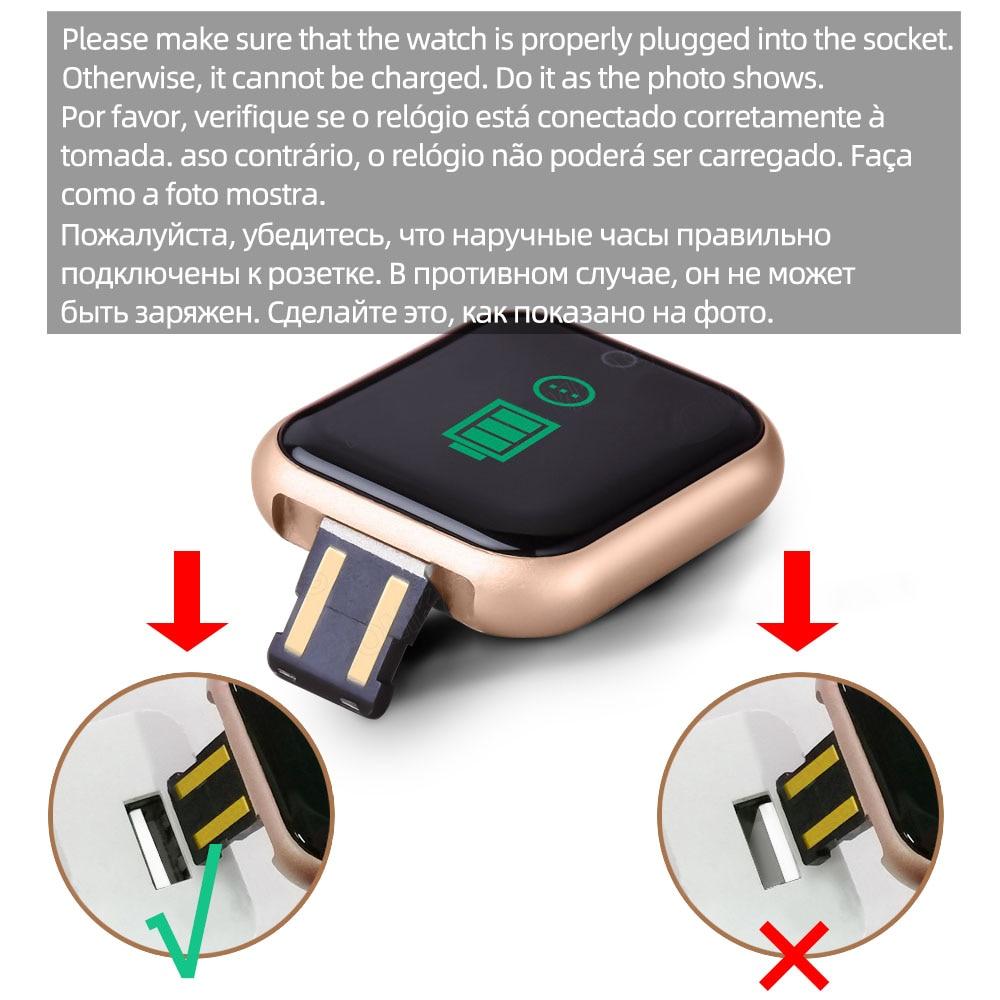 Smart watches 2020 Android smart watch men women kids smartwatch Bluetooth Heart Rate Monitor fitness watch smart connect 5