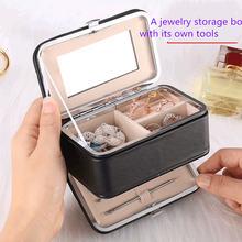Дорожная шкатулка для упаковки ювелирных изделий косметический
