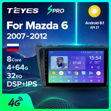 TEYES SPRO araba radyo multimedya no 2 din android Video oynatıcı navigasyon gps Mazda 6 için II Ultra 2007 2008 2009 2010 2011 2012(China)