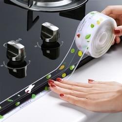 Home Bathroom Shower Sink Bath Sealing Strip Tape White PVC Self adhesive Waterproof Wall Sticker for Bathroom Anti-mold sticker