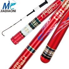 JIADIAONI Telescopic Fishing Rod Ultra Light Hard Carp Fishing Pole Carbon Fishing Rods Fishing Accessories 3.6m-7.2m