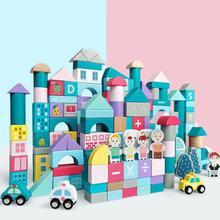 Ant Building Blocks Toys Mini Figures Childrens building blocks  toys wood assembling early childhood education Kids