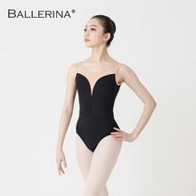 Vrouwen Ballet Turnpakje Praktijk Dans Kostuum Adulto Aerialist Gymnastiek Mouwloze Rode Leotards Ballerina 2506