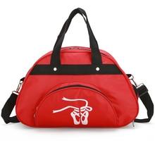Bolso deportivo grande para mujer y niña, con correas de hombro, de nailon, impermeable, para gimnasio, para entrenamiento físico, bolso de baile