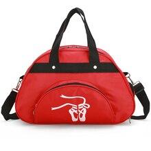 Kobiety dziewczyny duże torby sportowe z paskiem na ramię z nylonu wodoodporna torba sportowa na siłowni treningu Fitness taniec torba dla kobiety