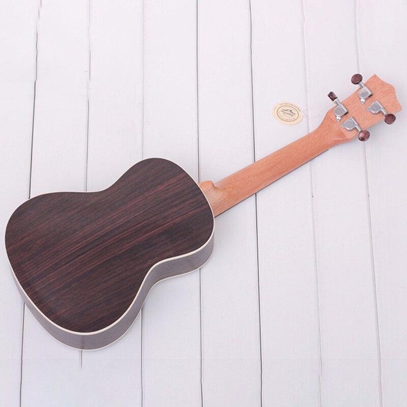 Longteam 23 pouces guitare ukulélé palissandre mat ukulélé hawaïen Mini guitare - 5