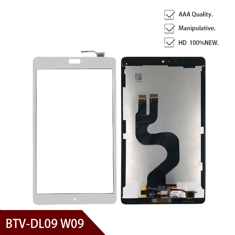 8.4 Inch For Huawei MediaPad M3 BTV-W09 BTV-DL09 LCD Display Panel Touch Screen Digitizer Glass Assembly Replacement