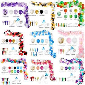 Strip-Chain Balloons Garland-Arch Background Wedding-Decorations Baby Shower Birthday-Party
