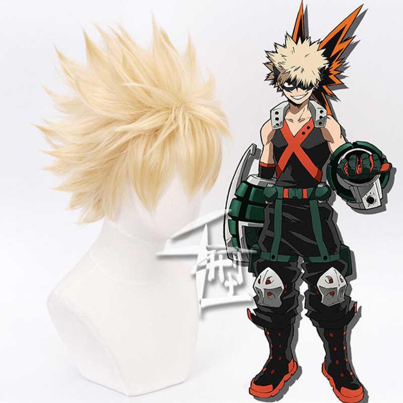 My Hero Academia Boku hiçbir Hiro Akademia Shoto Todoroki Shouto beyaz ve kırmızı Cosplay peruk
