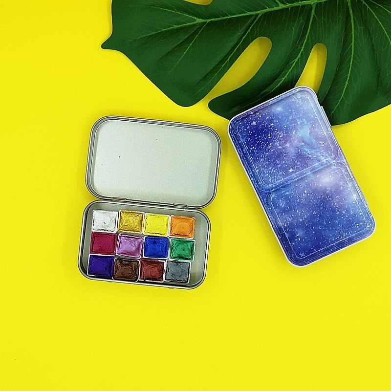 caligraf/ía decoraci/ón regalo para principiantes y artista-Ma-13 Mancola Juego de tinta de cristal sumergida hecha a mano con 12 tintas de colores para arte dibujo firmas
