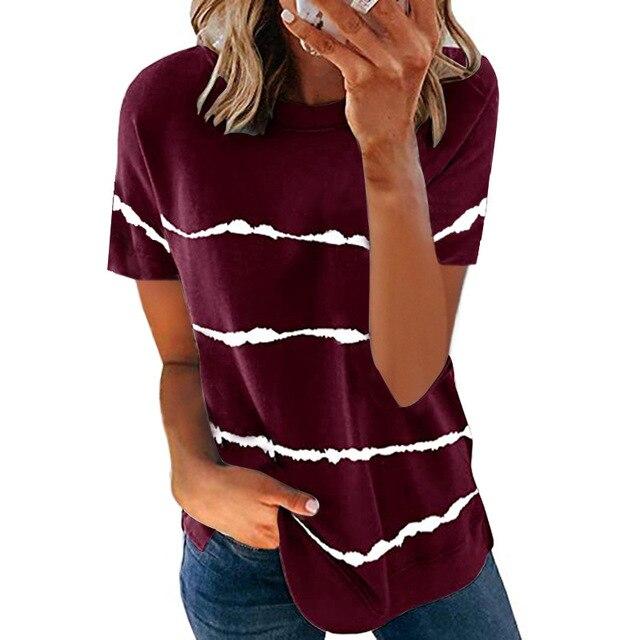 Свободная женская футболка модного покроя, коллекция лето 2021 2