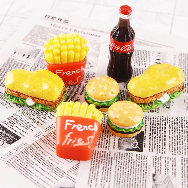 1//12 Scala Bambola Miniatura Cucina Alimentari Hamburger Decorativo Casa