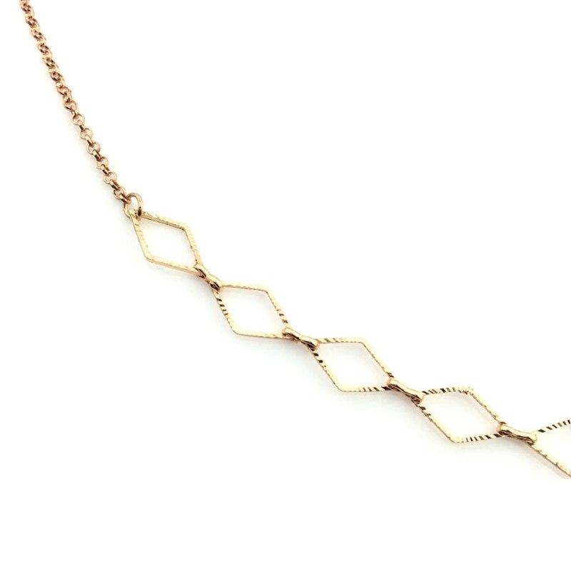 Reading Glasses Chain Holder Fashion Sunglasses Metal Neck Strap Necklace 2Color 95AB