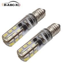 RUIANDSION – lampe torche de remplacement, 2 pièces, ampoule en Silicone blanc, 24smd, 43mm, 240lm, E10, 6000K, 3000K, ambre, 3V-6V, 4.5V, 2 3 4 cellules