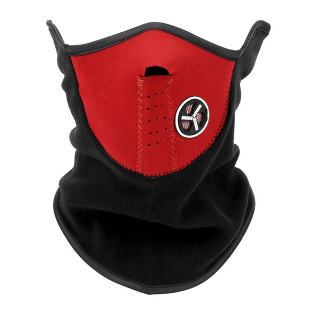Warm Winter Ski Snow Scarf Motorcycle Half Face Mask Cover Outdoor Sport Neck Protector Motorcycle Face Mask