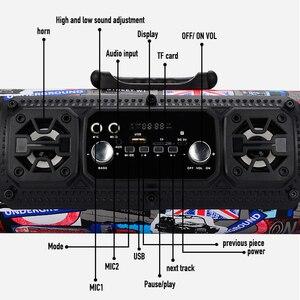 Image 5 - Портативная Bluetooth колонка, 15 вт, с микрофоном