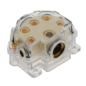 5-Way 0/2/4/8 Ga автомобильный аудио кабель питания разветвитель распределительный блок