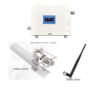 Image 5 - Cell Phone networ Booster Tri Band Signal communication Repeater  GSM 2G 3G 4G Cellular signal Amplifier  900 1800 2100 mhz  set