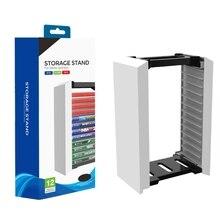 מארח משחק דיסק מגדל אחסון מתלה חנות 12 משחק דיסקים עבור PS4 PS5 מתג XboxOne Dropshipping