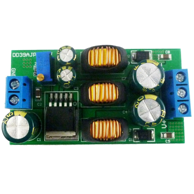 20W +- 5V-24V Positive & Negative Dual Output Power Supply DC DC Step-Up Boost-Buck Converter Module(With Terminal)