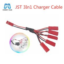 Wtyczka jst 5 w 1 kabel do ładowarki dla MJXRC X400 X500 X800 Udi U815A U818A U819A dla RC zabawki bateria lipo kabel do ładowania