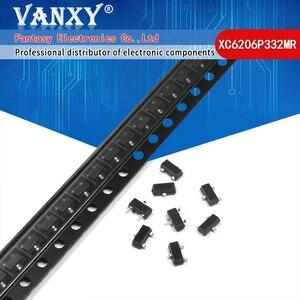 Image 1 - 100 قطعة XC6206P332MR SOT 23 SOT XC6206P332 SOT23 XC6206 SMD(662K) 3.3 فولت/0.5A إيجابي ثابت LDO الجهد الجديد والأصلي