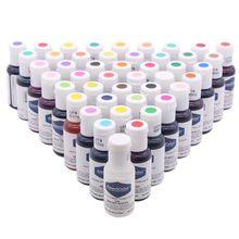 26 cores americolor natural pigmento comestível para bolo fondant macaroon creme colorido alimentos pigmento cozimento decoração ferramentas 21 g/pc