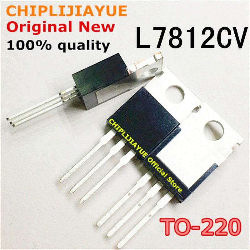 5-20PCS L7812CV L7812 TO220 7812 LM7812 MC7812 TO-220 novo e original Chipset IC