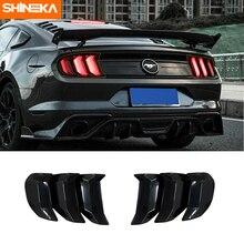 SHINEKA – couvercle de phare arrière pour Ford Mustang 2018 – 2019, accessoires pour phare arrière