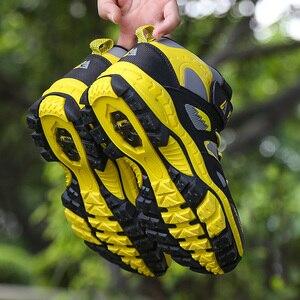 Image 3 - Baskets imperméables pour enfants, chaussures de Sport imperméables, montantes, antidérapantes, à la mode, en caoutchouc, pour garçons, hiver chaussures décontractées