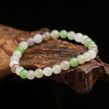 New Real Rare Certified Natural Chinese Hetian Jade Nephrite Lucky Amulets Jade Beads Bracelets Best Gifts Ladies Jewelry A0024