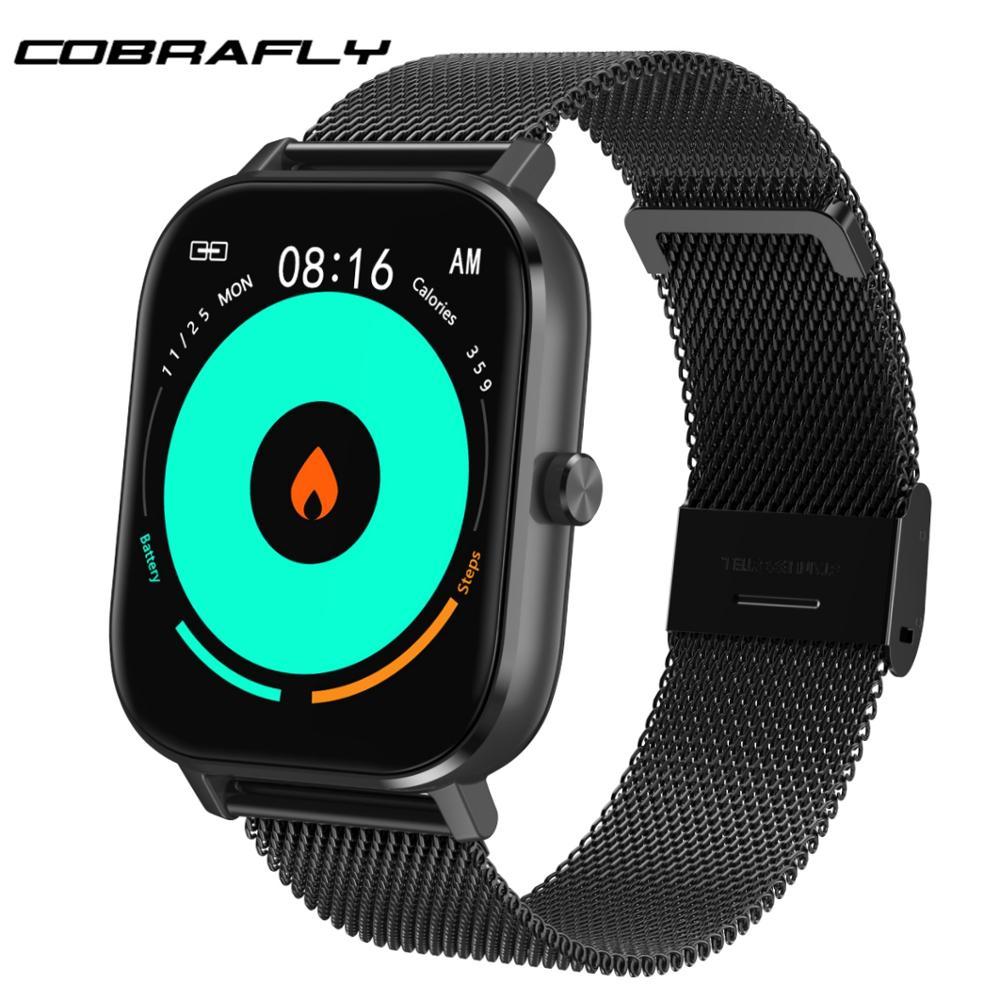 COBRAFLY DT35 Smart Watch Full Touch Screen Men Women Sport Fitness Watch IP67 Waterproof Bluetooth call Multi-language Clock(China)