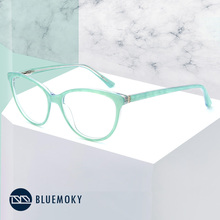 BLUEMOKY Prescription Glasses Frame Women Optical Myopia Eye