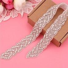 Свадебный пояс, свадебный пояс с кристаллами, свадебный пояс с бриллиантами, свадебный пояс с жемчугом