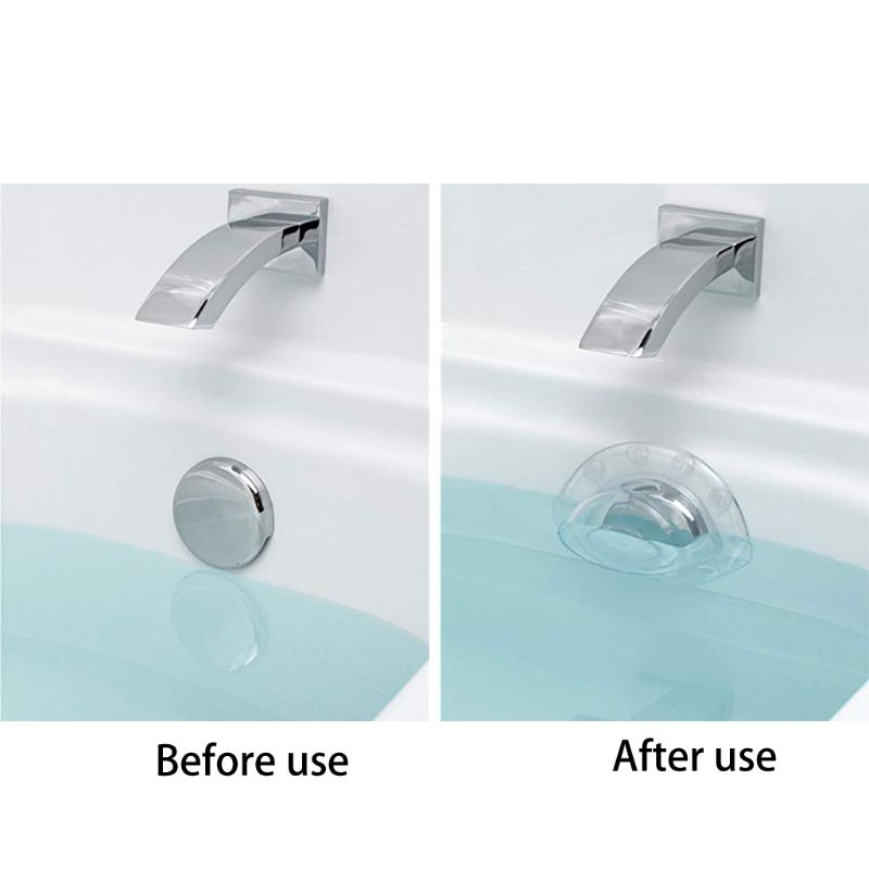 Bottomless Bath Overflow Drain Cover Adds Water To Tub For Bath Deep Water Bath 35ED