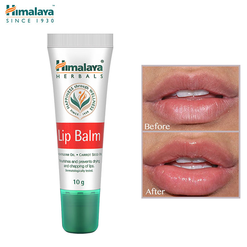 Original Himalaya Herbals Lip Balm Nourishing Dry Lips Prevent Chapping Lip Care Mask Plumper Pink Lips Oil 10g