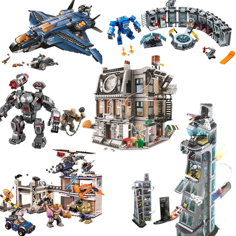 2020 New  Super Heroes Building Blocks Brick Toys For Children 76143 76142 76162