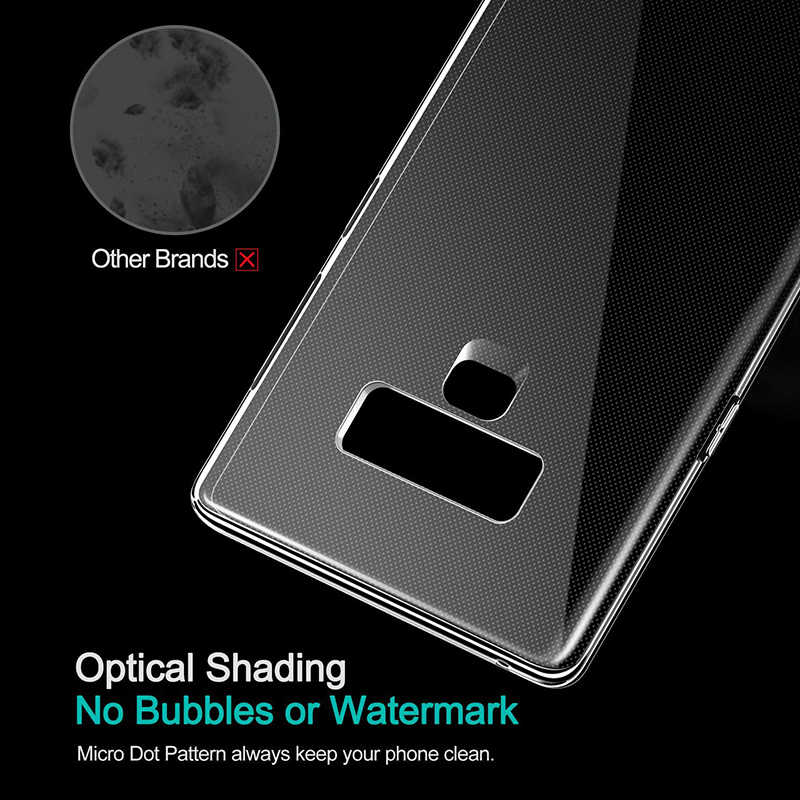 Cubiertas cristalinas ultrafinas delgadas suaves de TPU para Samsung Galaxy Note 8 4 5 funda trasera de teléfono transparente Galaxy S7 S8 Plus