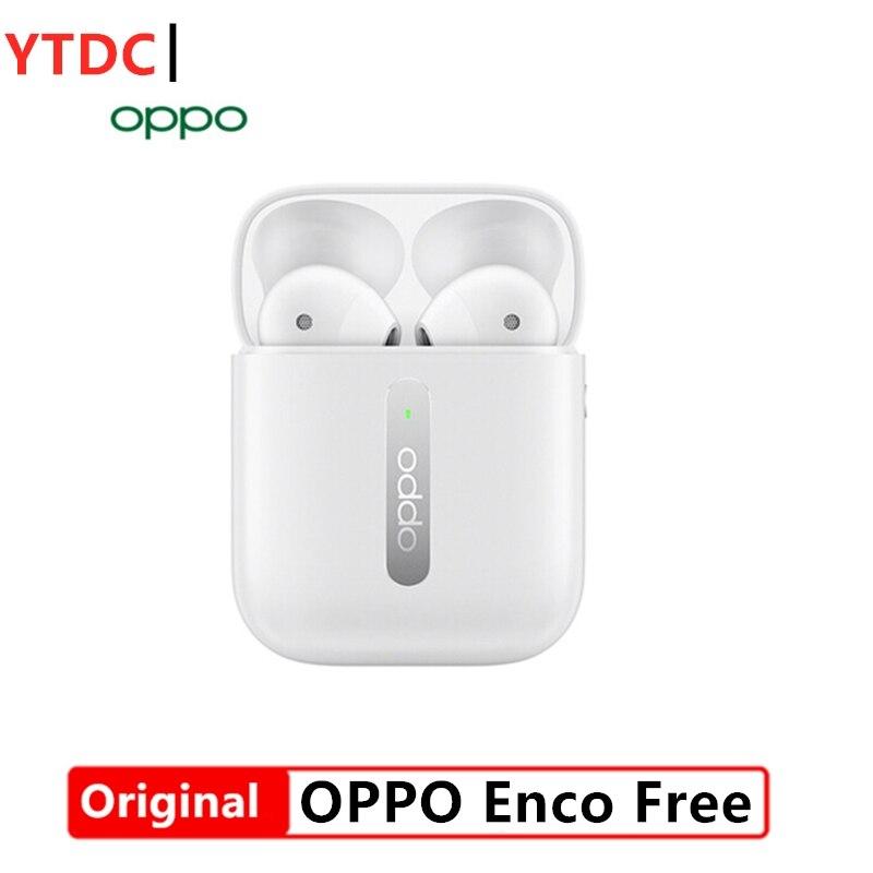 Оригинальные беспроводные наушники Oppo Enco Free Bluetooth 5,0, TWS наушники с шумоподавлением IPX4 для Reno 4 Pro 3 Ace 2 Find X2 Pro