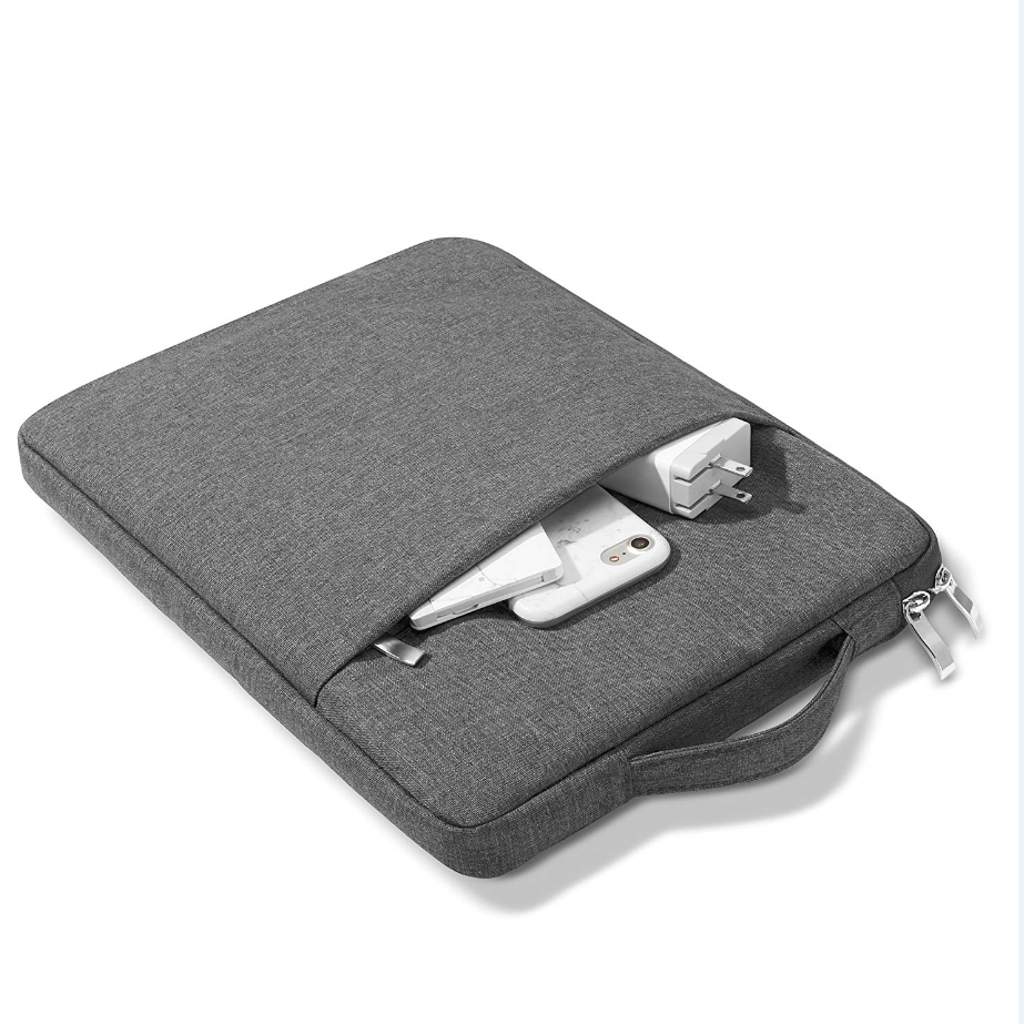 dark grey Gold For iPad 10 2inch 2020 8th Generation Tablet Handbag Zipper Carrying Bag Compatible 2019 7th 10