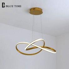 Современный крытый освещение светодиодные подвеска свет подвесной светильник алюминиевый потолок для гостиная столовая люстры